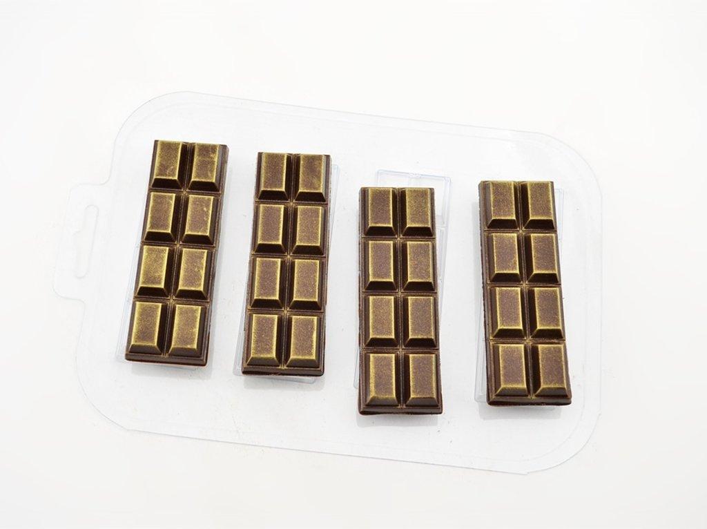 Пластиковые формы для шоколада: Форма для шоколада Батончик 2х4 в ТортExpress