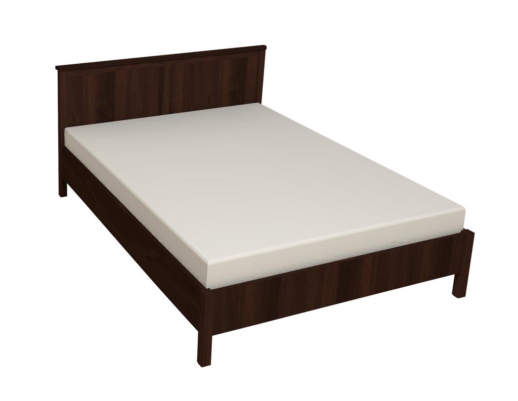 Кровати: Кровать Sherlock 42 (1600, орт. осн. металл) в Стильная мебель