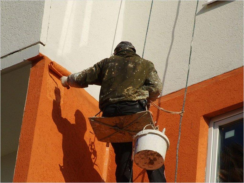 Фасадные работы: Покраска фасада в FloMASTER, ООО