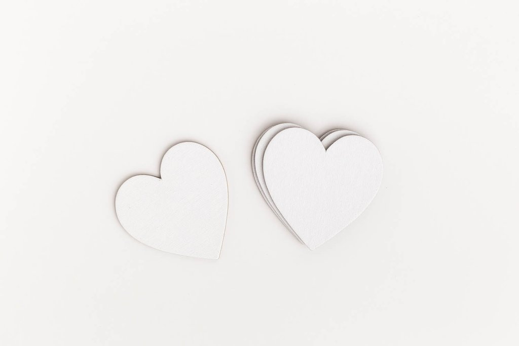 Холсты на картоне,холсты на ДВП: Набор холстов-магнитов Малевичъ, сердце 7,5х7,5см 4шт в Шедевр, художественный салон