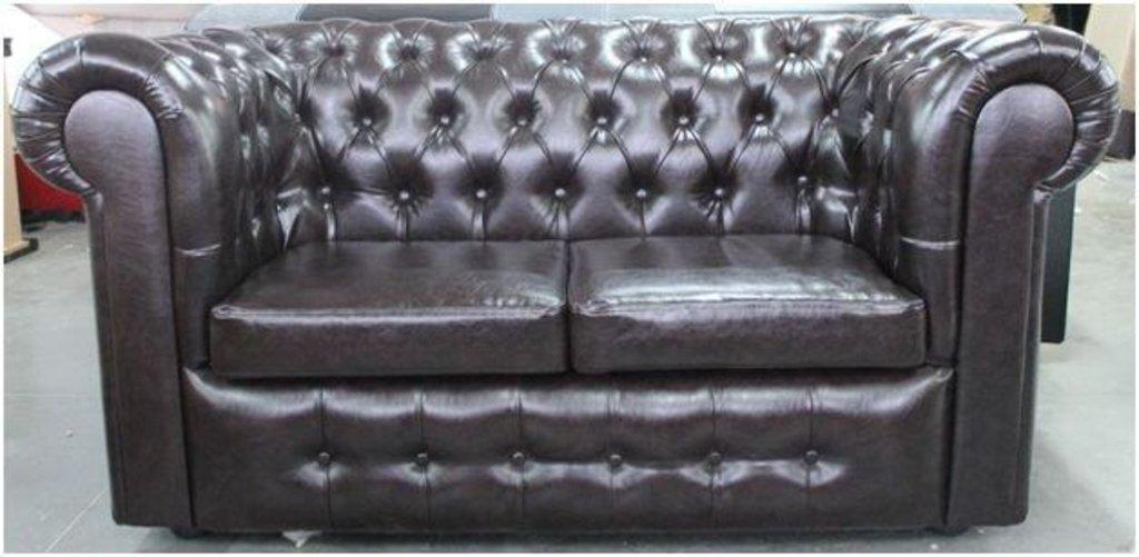 Диваны и мягкие кресла: Диван Честерфилд 1,65 (двхместный) в Стильная мебель