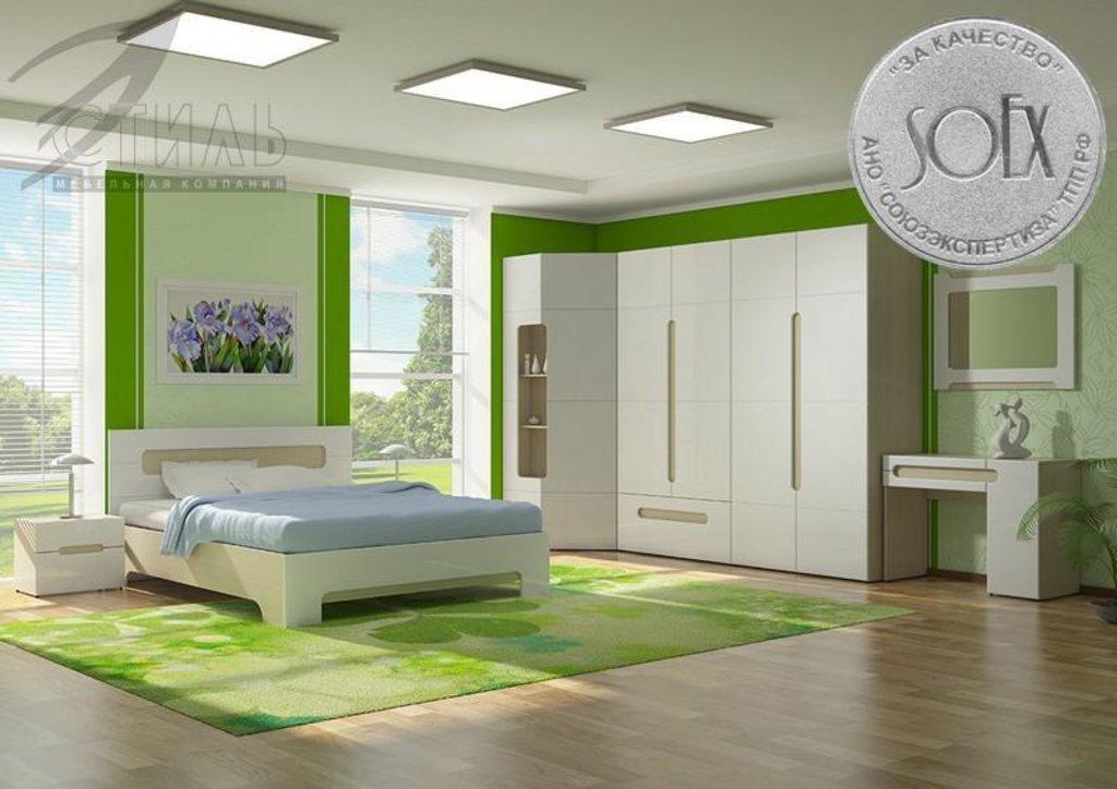 Мебель для спальни Палермо: Кровать двухспальная Палермо (1600*2000) в Диван Плюс