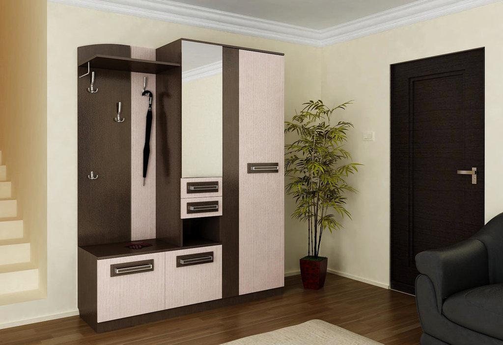 Мебель для прихожих, общее: Пенал с вешалкой Лаура в Стильная мебель
