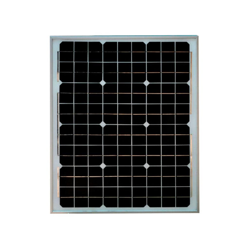 Монокристаллические солнечные панели: Солнечная батарея SilaSolar 50Вт в Горизонт