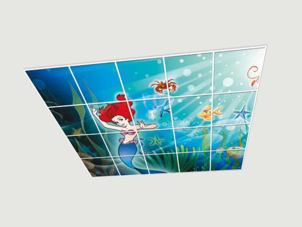 Витражные (стеклянные) потолки: Серия «Детская Комната» в Мир Потолков
