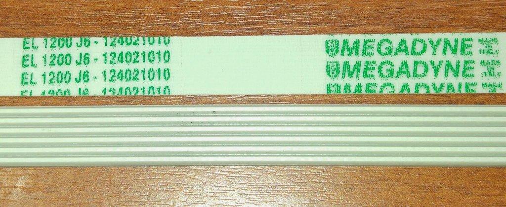 Ремни привода барабана: Ремень для стиральной машины 1200 J6 в АНС ПРОЕКТ, ООО, Сервисный центр