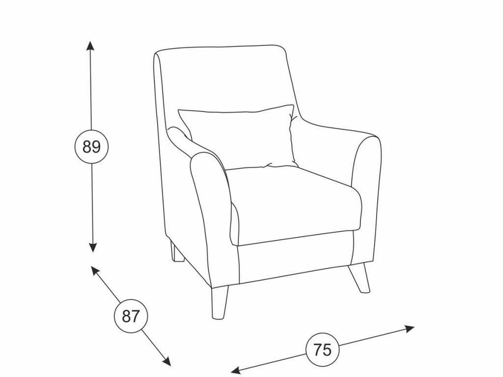 Кресла Либерти: Кресло Либерти ТК 224 в Диван Плюс