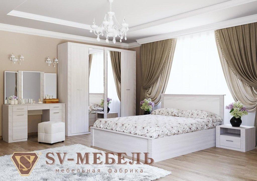 Мебель для спальни Гамма-20: Зеркало (стол туалетный) Гамма-20 в Диван Плюс