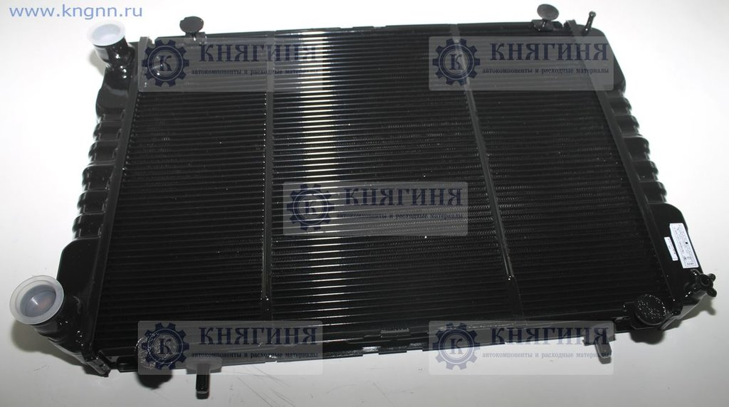 Радиатор охлаждения ГАЗель бизнес медн. 2-ряд. дв. УМЗ-4216 ЕВРО 3 в Волга