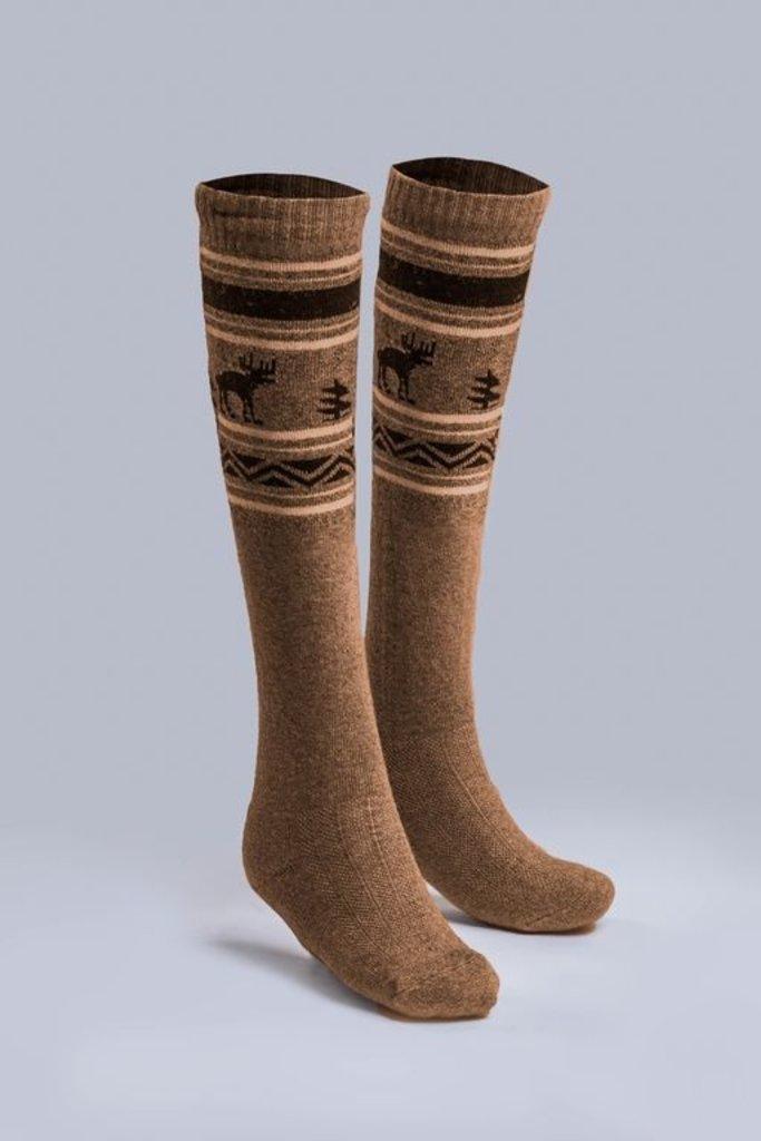 Чулочно-носочные изделия: Гольфы взрослые из верблюжьей шерсти и шерсти яка в Сельский магазин