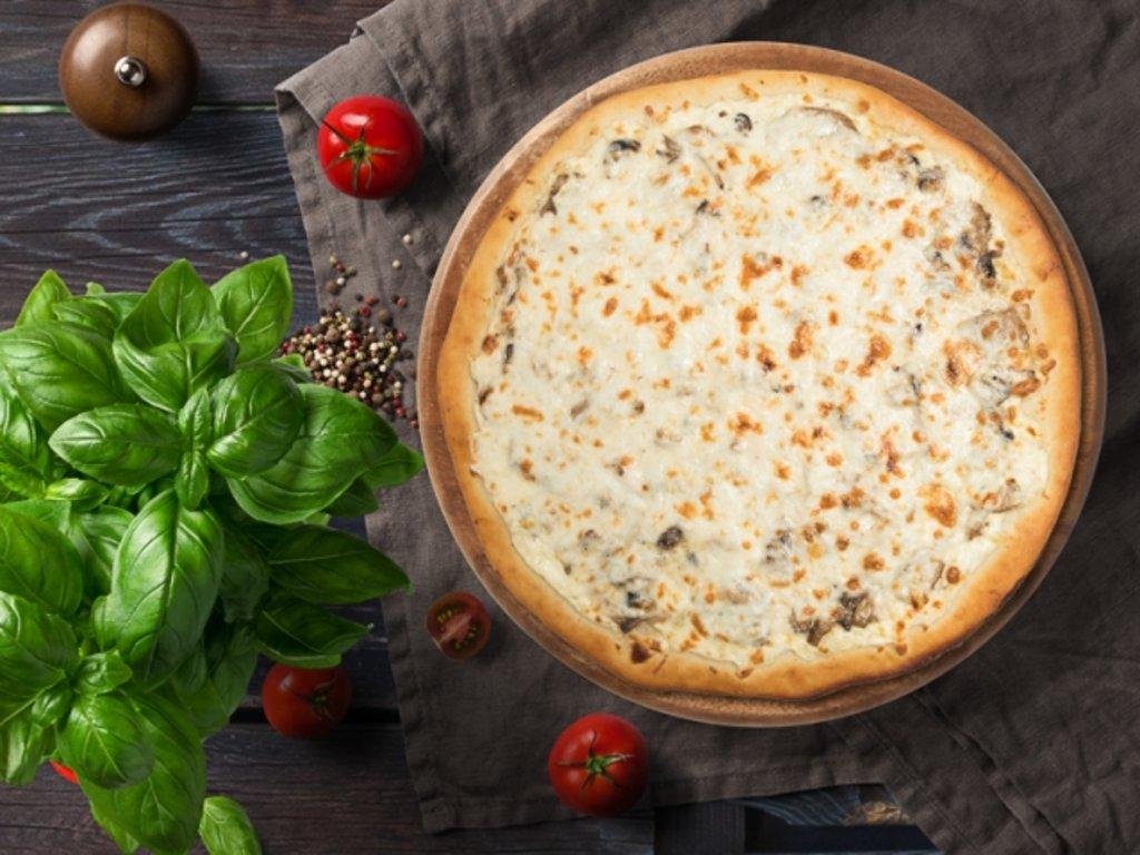 Пицца: Грибная пицца в МЭСИ суши&роллы
