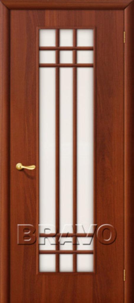 Двери ламинированные BRAVO: 16С Л-11 (ИталОрех) в STEKLOMASTER