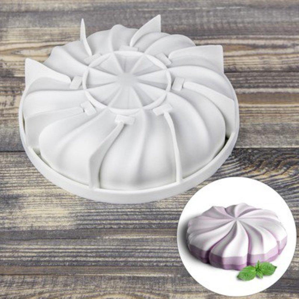 3d формы: Силиконовая форма для выпечки и муссовых десертов Зефир в ТортExpress
