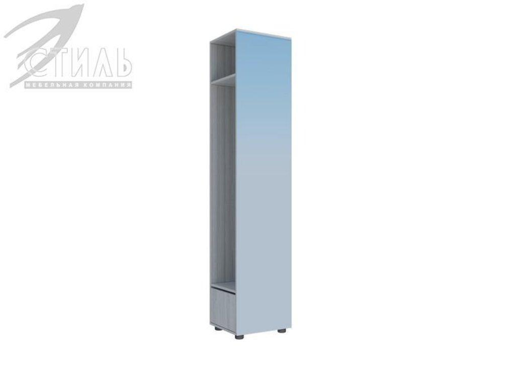 Мебель для прихожей Юнона-1: Пенал-зеркало Юнона-1 в Диван Плюс