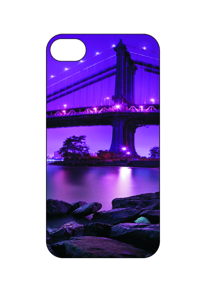 Выбери готовый дизайн для своей модели телефона: Мост в NeoPlastic