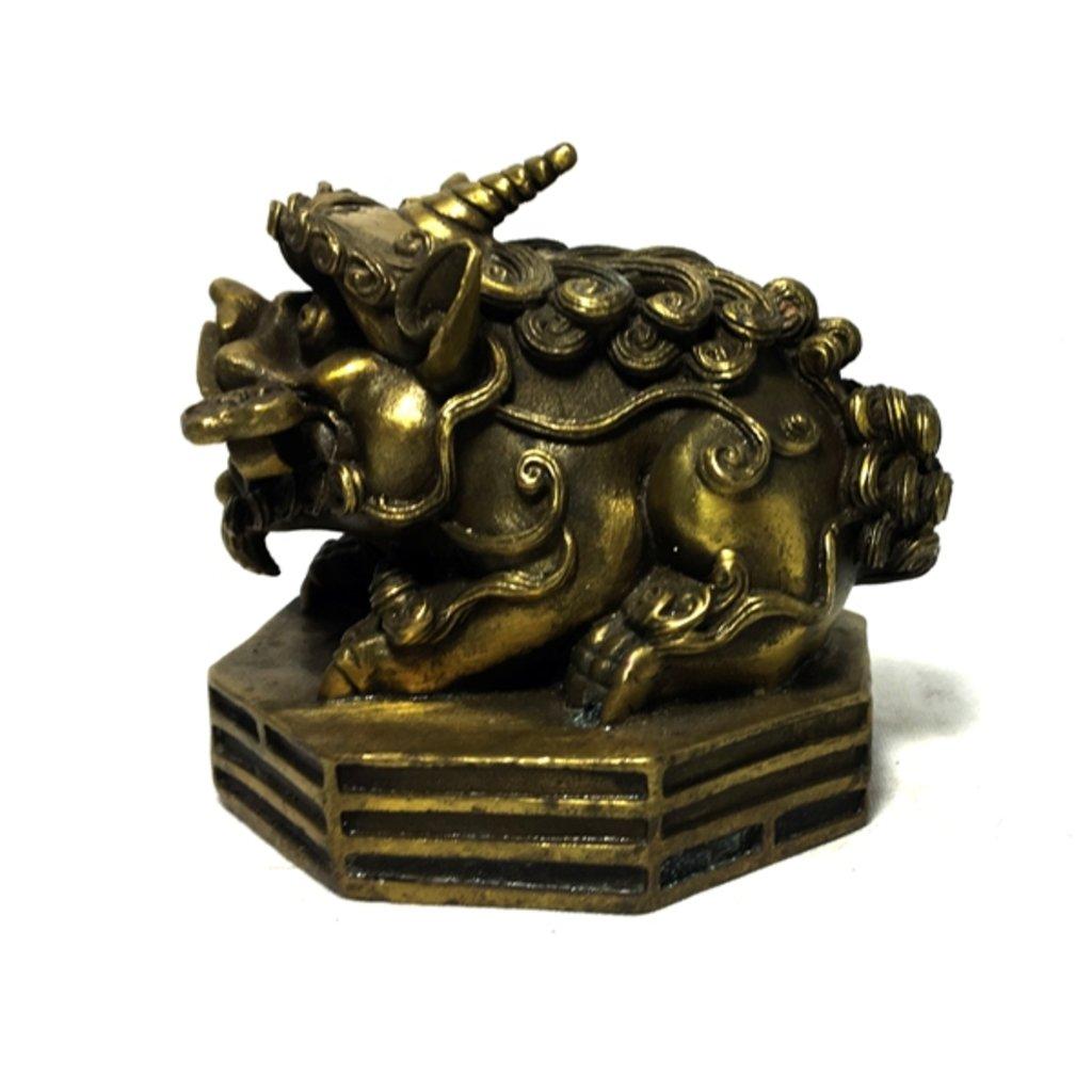 Статуэтки: Кирин в Шамбала, индийская лавка