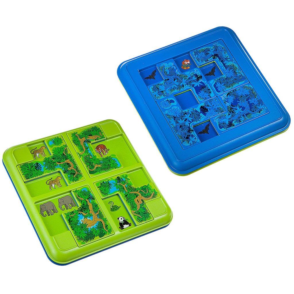Настольные и спортивные игры: Логическая игра Джунгли. Прятки Bondibon в Игрушки Сити