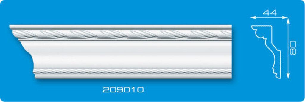 Плинтуса потолочные: Плинтус потолочный ФОРМАТ 209010 инжекционный длина 2м в Мир Потолков