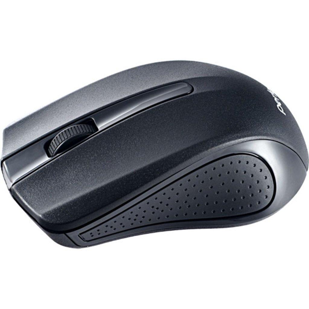 Мышки, клавиатуры, коврики, стилусы: Мышь беспров. оптич. 3 кн, USB, чёрная (Perfeo PF-353-WOP-B) в A-Центр Пульты ДУ