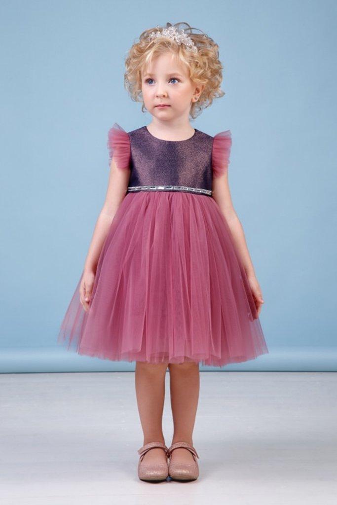 Платья: Платье 38-8039-3 Ягодный в Детский универмаг