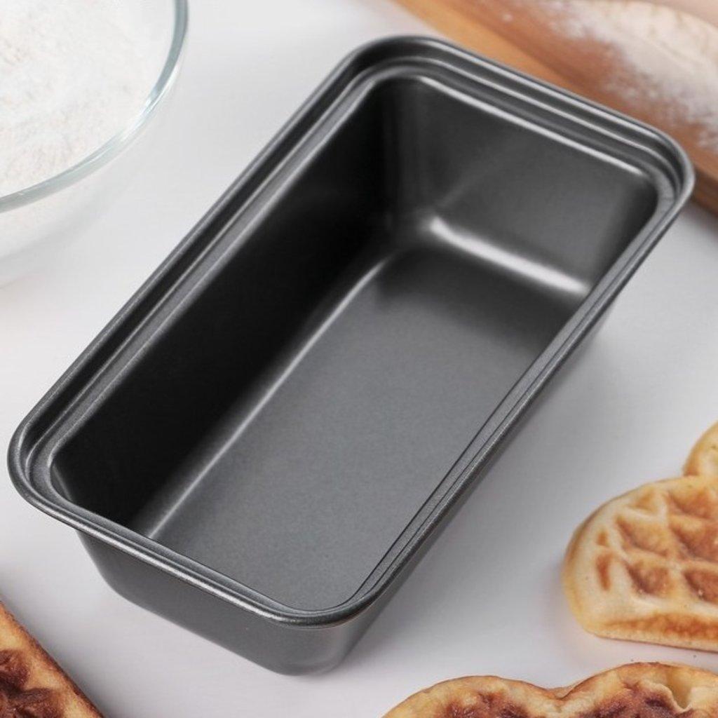 """Металлические и разъёмные формы для выпечки: Форма для выпечки """"Хлеб. Жаклин"""", антипригарное покрытие 15.5х8.5см в ТортExpress"""