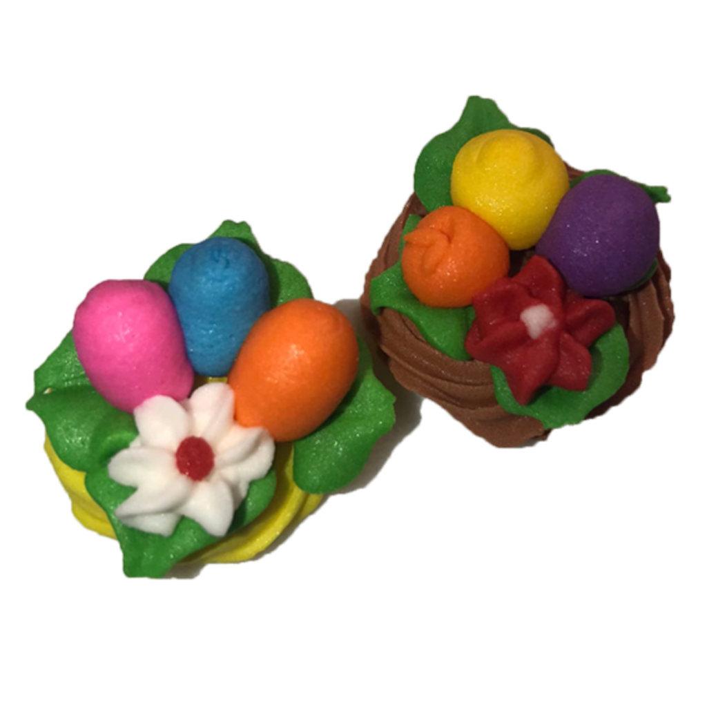 Сахарные украшения: Украшение сахарное Гнездо пасхальное в ТортExpress