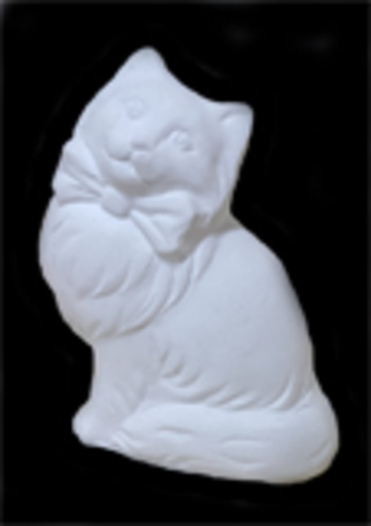 Гипсы: Основа для росписи ,Кошка в Шедевр, художественный салон