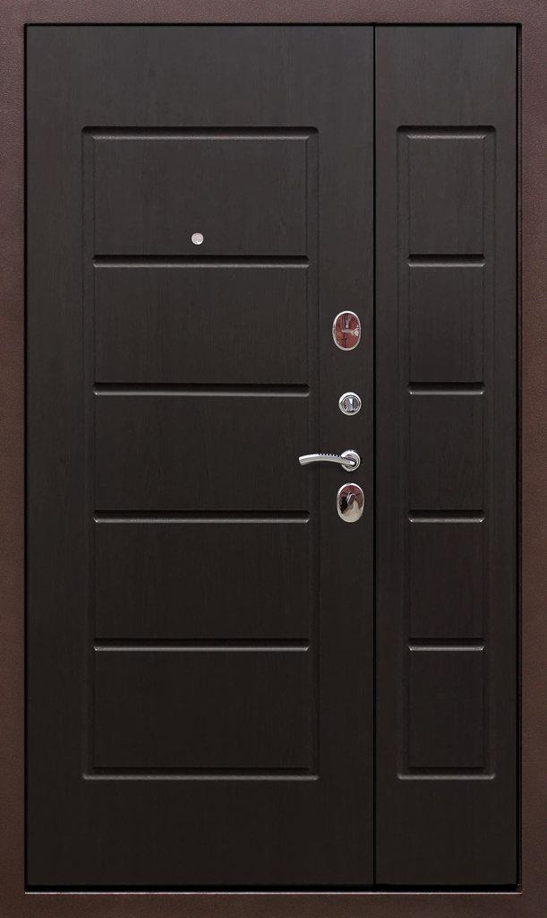 Входные двери (бюджет) от 70-80мм: Входная дверь  ГАРДА антик 1200мм в Пластиковые окна в Сургуте STEKLOMASTER