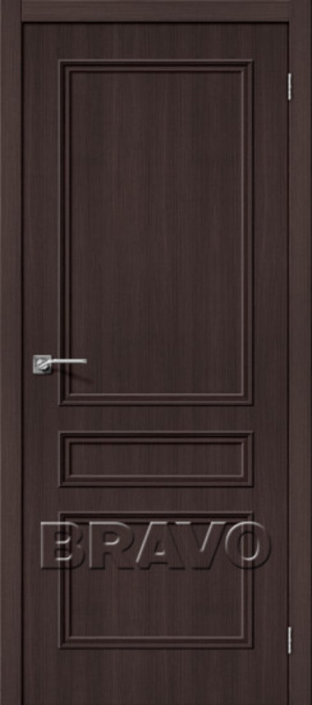 Двери экошпон BRAVO Classico: Классико-22 Wenge Veralinga в STEKLOMASTER