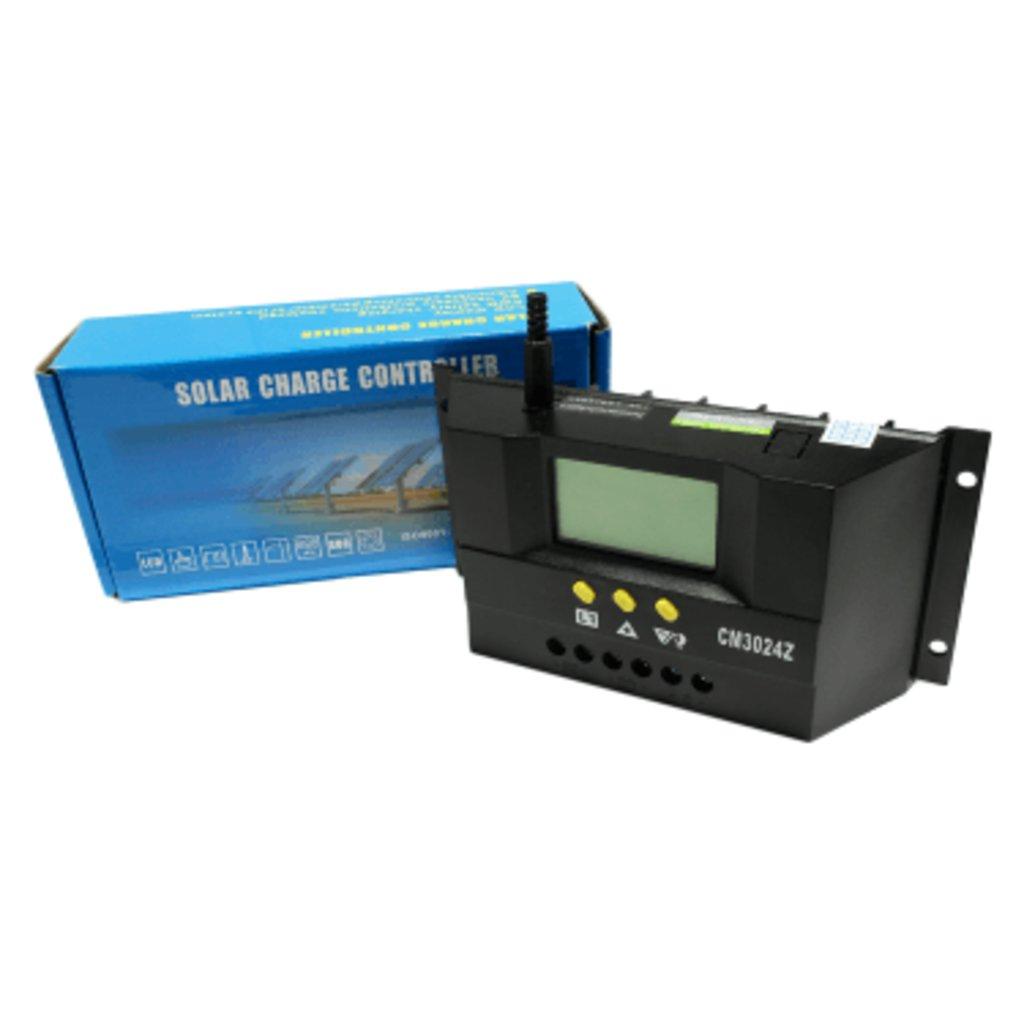 ШИМ контроллеры: Контроллер заряда JUTA CM3024Z 30А в Горизонт