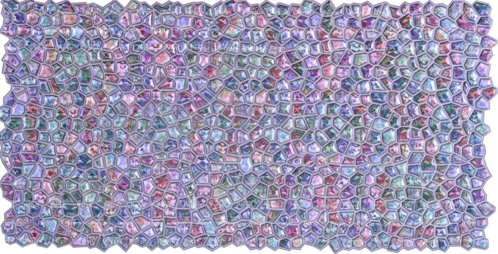 Панели ПВХ: Мозаика Кристалл Розовое сияние в Мир Потолков