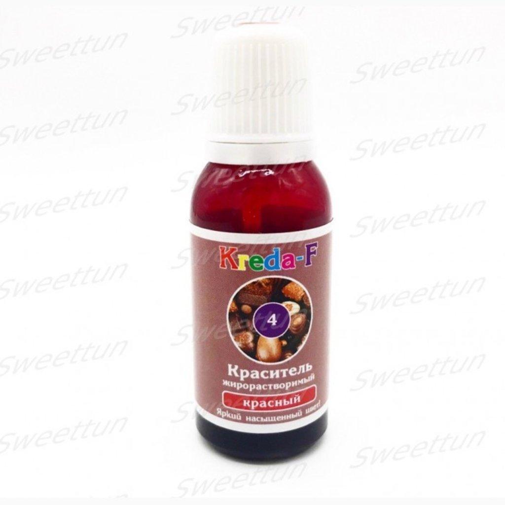 Ингредиенты: Краситель для шоколада жирорастворимый, Красный Kreda-F 20г в ТортExpress