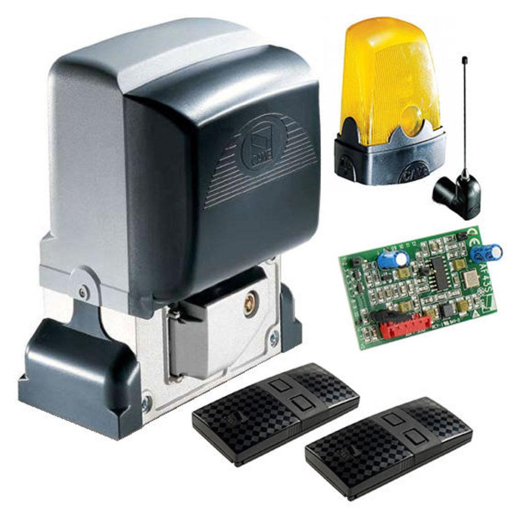 Автоматика для откатных ворот: Комплект BX-68+ KLED для автоматизации откатных ворот в Автоворота71