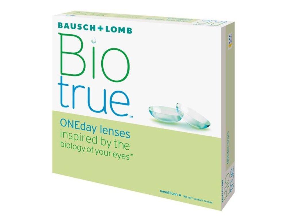 Контактные линзы: Контактные линзы Biotrue ONEday (90 шт / 8.6) Bausch & Lomb в Лорнет