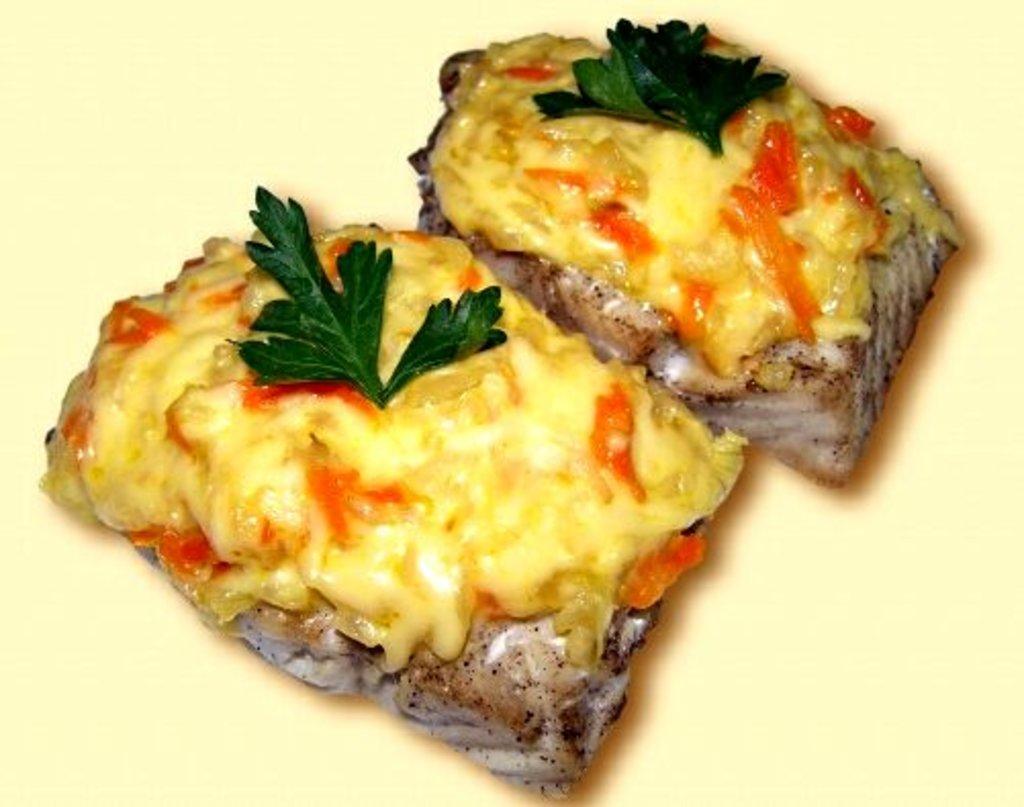 Вторник: Минтай запеченный с овощами и  гарниром 280гр в Смак-нк.рф