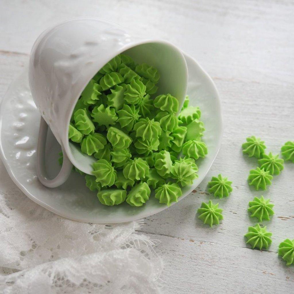 Украшения, декор: Посыпка мини-безе Зеленая, 50 гр в ТортExpress