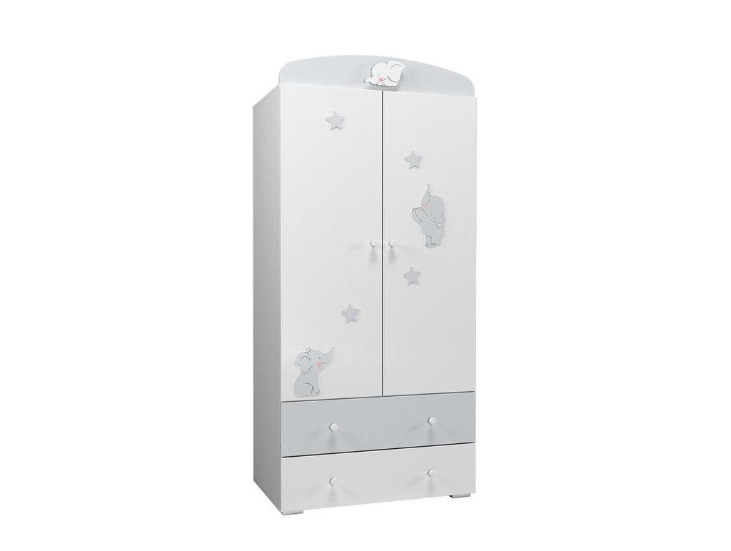 Детские шкафы и стеллажи: Шкаф НМ 041.01 Лилу в Стильная мебель