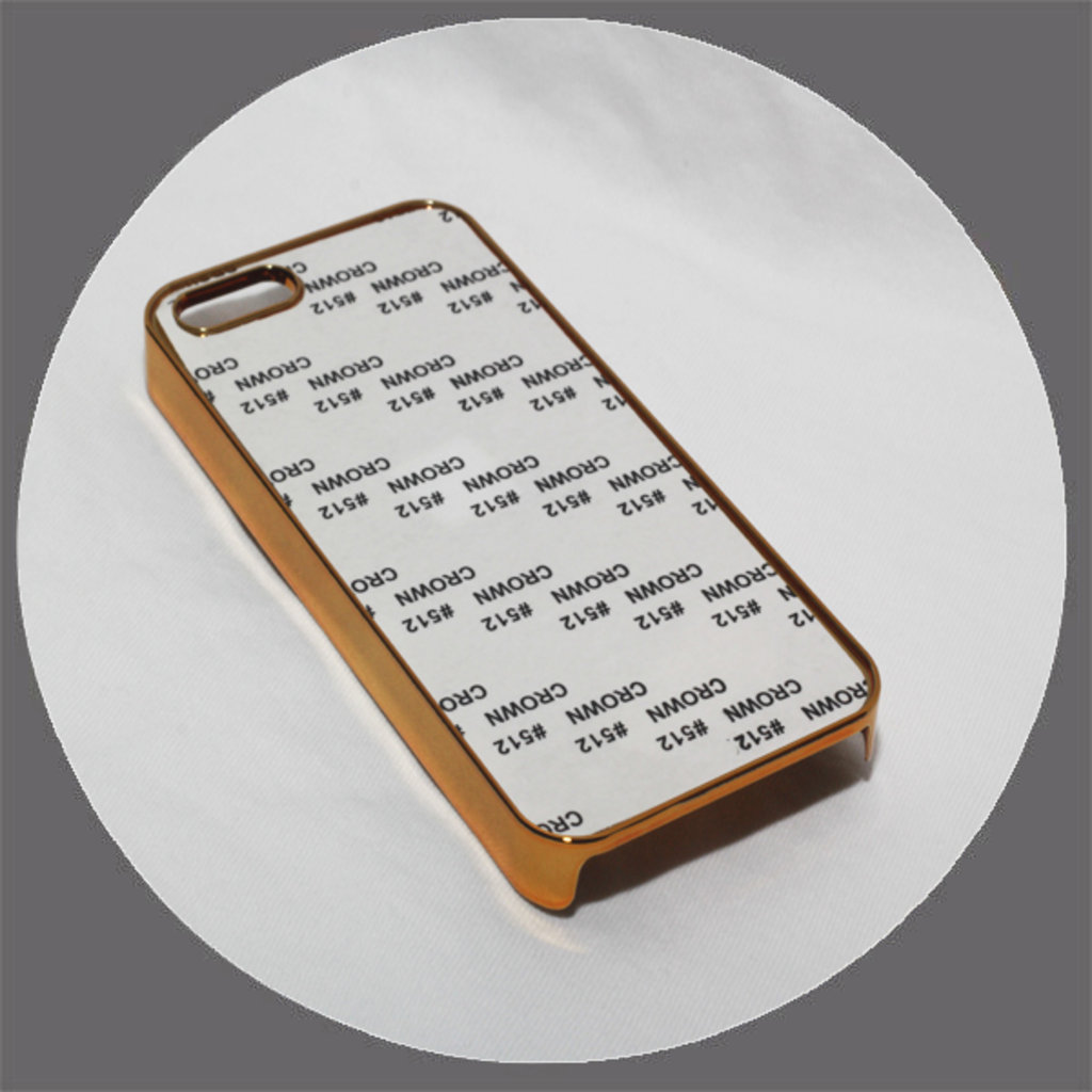 Apple: Чехол для IPhone 5 и 5s Металлизированный Золото в NeoPlastic