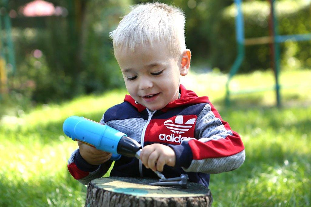 Игрушки для мальчиков: Дрель Технок в Игрушки Сити