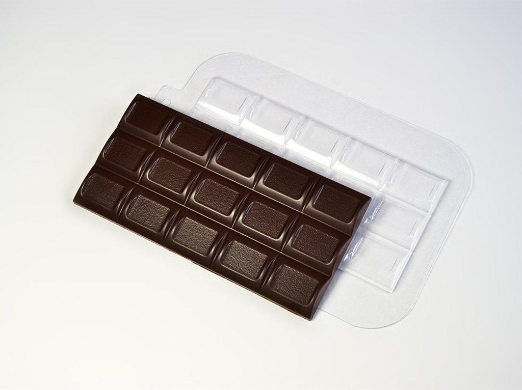 Пластиковые формы для шоколада: Форма для шоколада Плитка Полукруг в ТортExpress