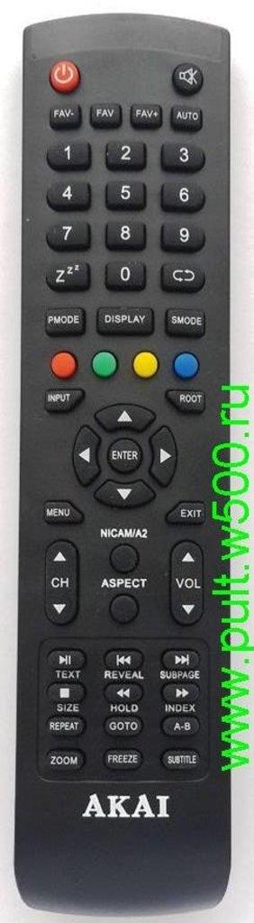 AKAI: Пульт AKAI WL52JC002 корп.Y-72 (LCD LTA-15A15M ) оригинал в A-Центр Пульты ДУ
