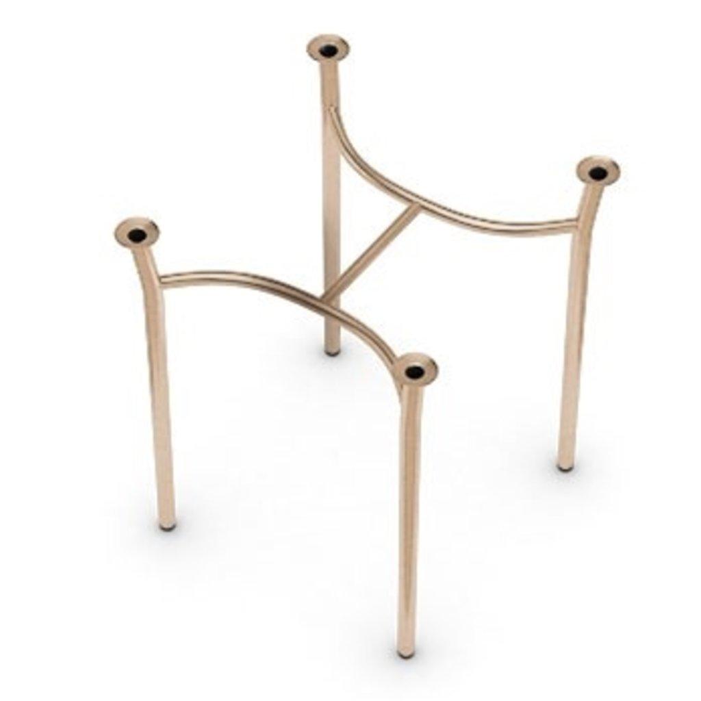 Подстолья для столов.: Подстолье 0013АН (металлик, чёрный, коричневый, золото) в АРТ-МЕБЕЛЬ НН