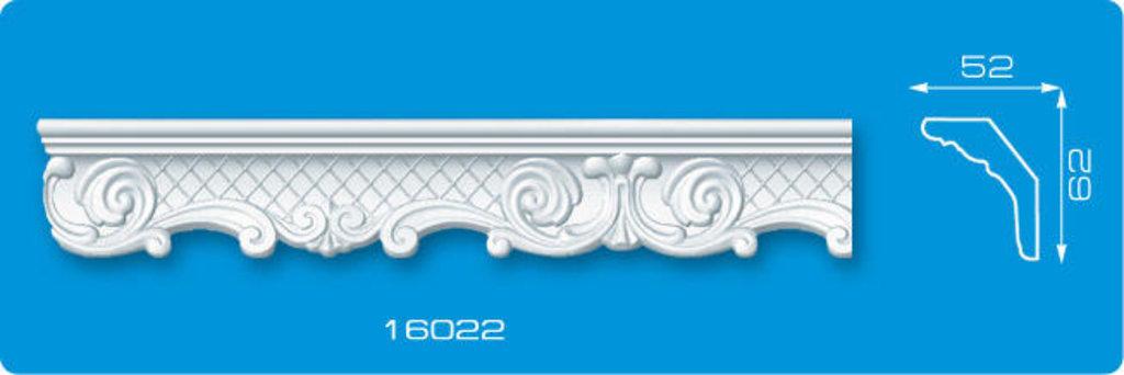 Плинтуса потолочные: Плинтус потолочный ФОРМАТ 16022 инжекционный длина 1,3м, средний в Мир Потолков