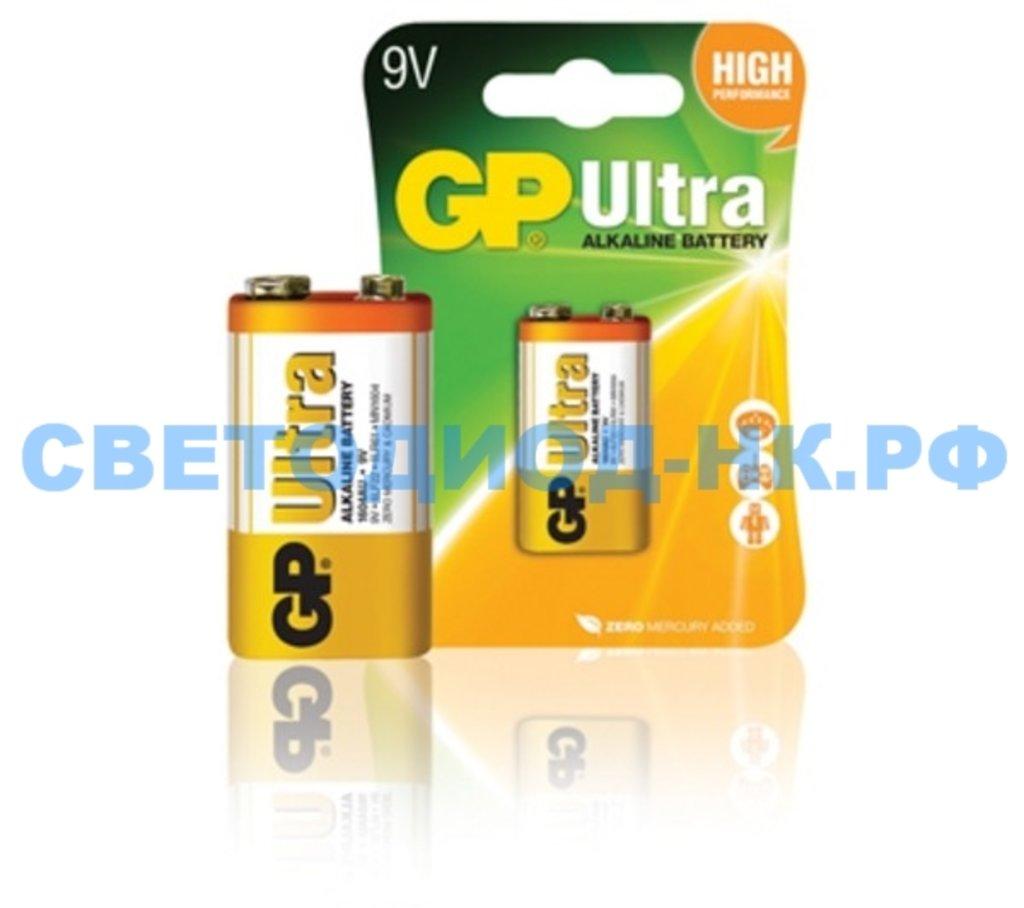 Батарейки: Элемент GP 6LF22 ULTRA ALKALINE в СВЕТОВОД