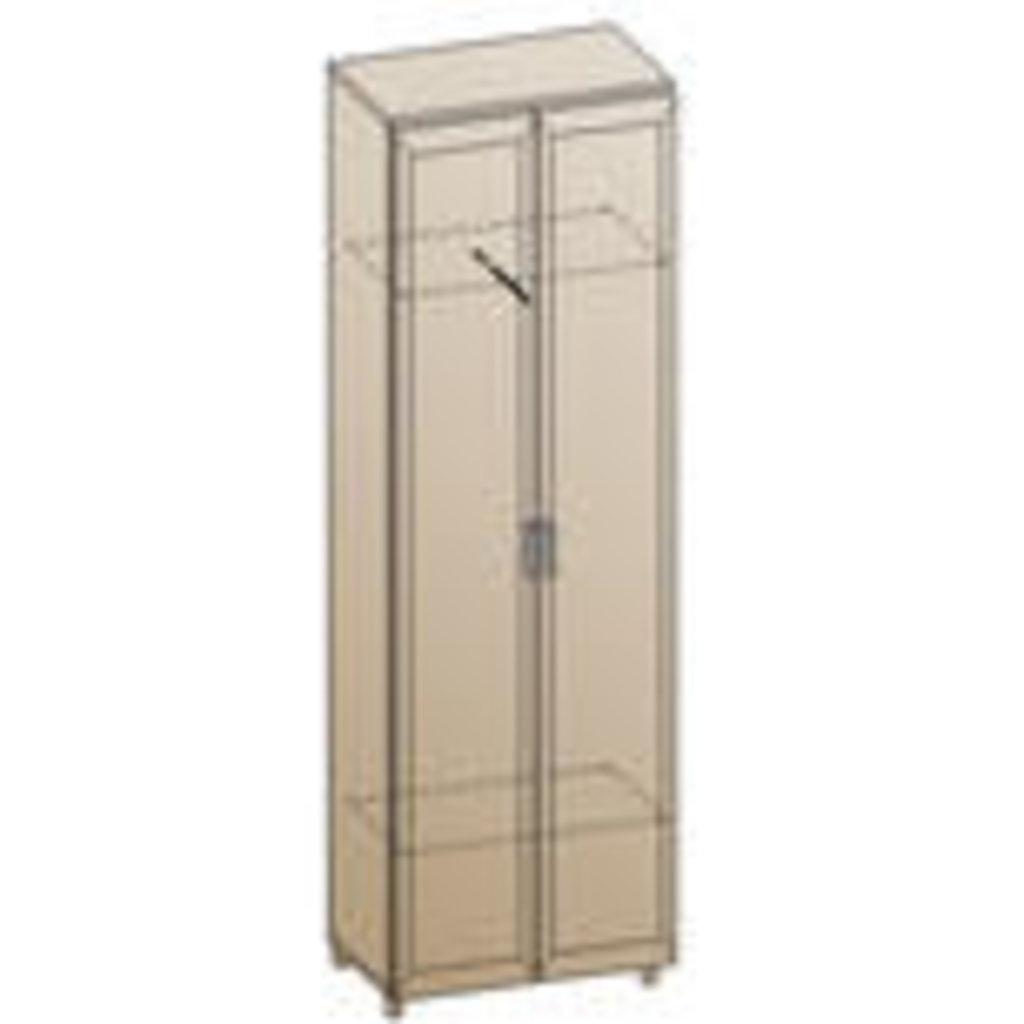 Мебель для прихожей Мелиса - композиция 1. Модули: Шкаф ШК-808 Мелиса в Диван Плюс