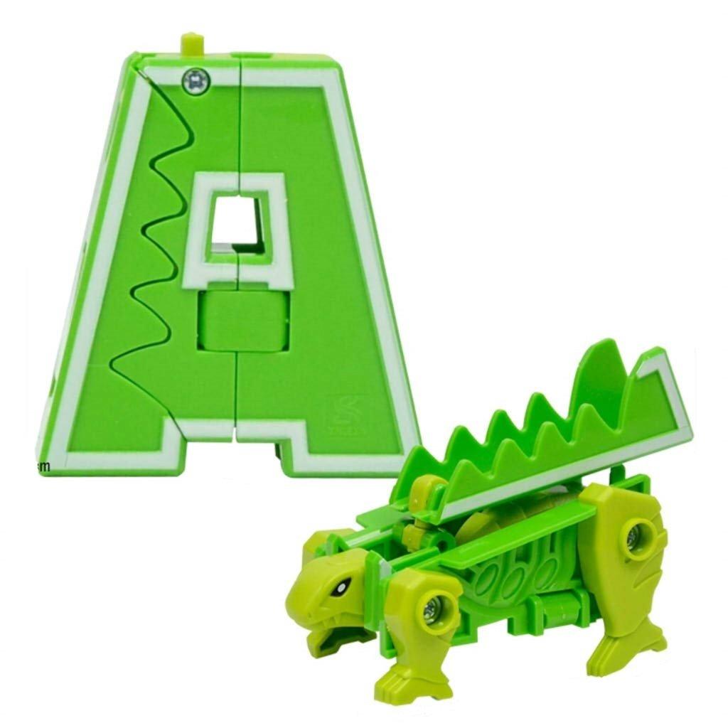 Игрушки для мальчиков: 1Toy Трансботы Т15507 Lingvo Zoo, 26 букв от A до Z. Зооботы. в Игрушки Сити