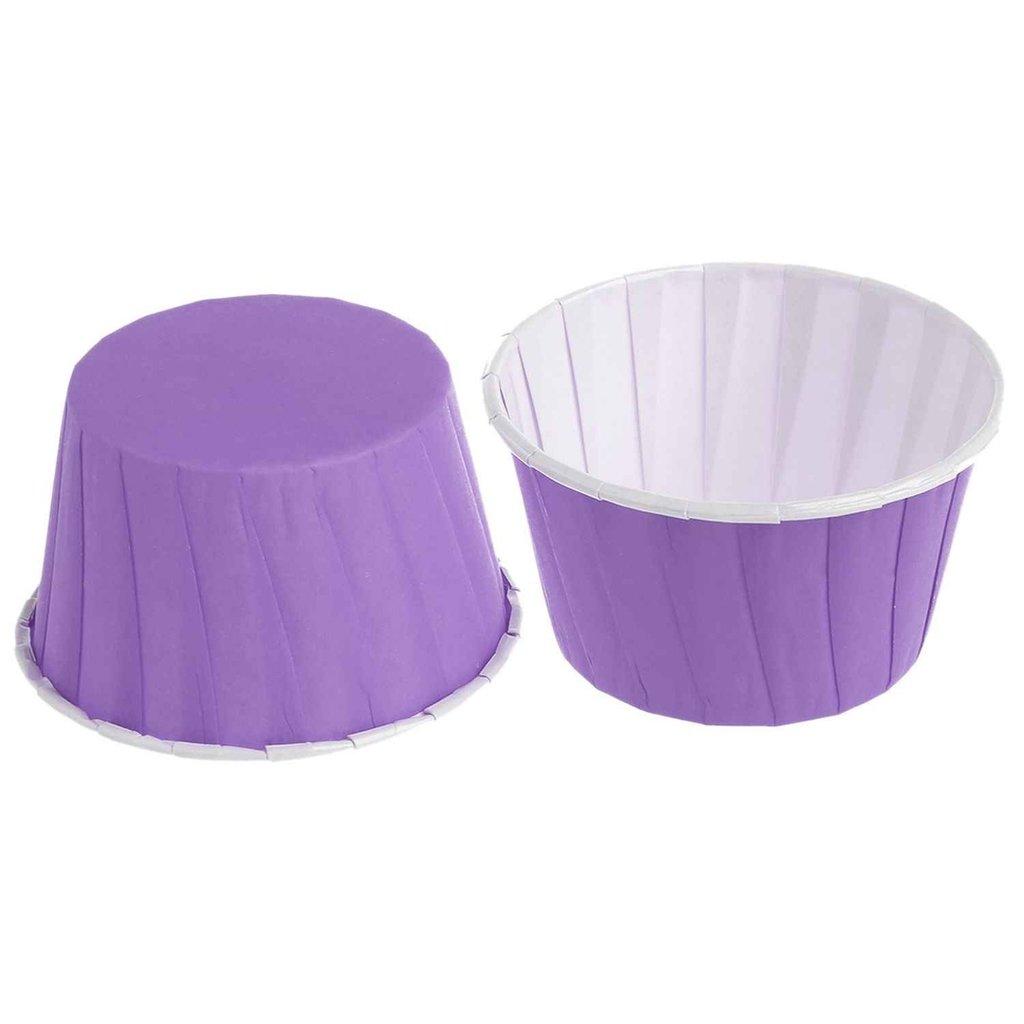 Формы бумажные для выпекания маффинов, пирогов, куличей: Форма бумажная Маффин МИКС 50Х40мм 1 штука в ТортExpress