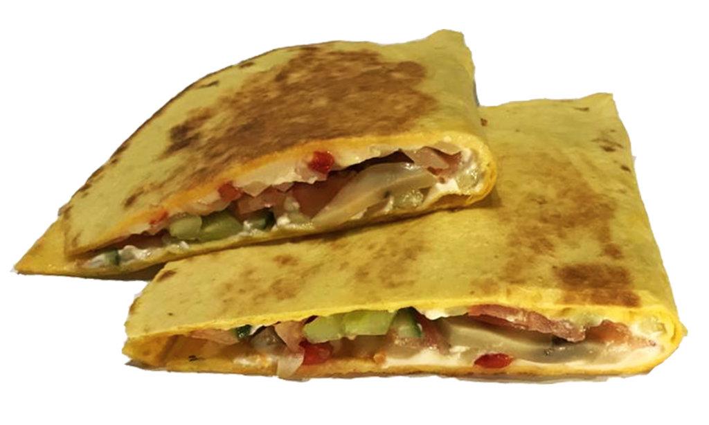 Горячие закуски: Кесадилья с курицей в Суши Львуши