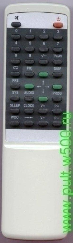 AKIRA: Пульт AKIRA RY-2002 белый ( TV CT-14UX9A ) HUAYU в A-Центр Пульты ДУ