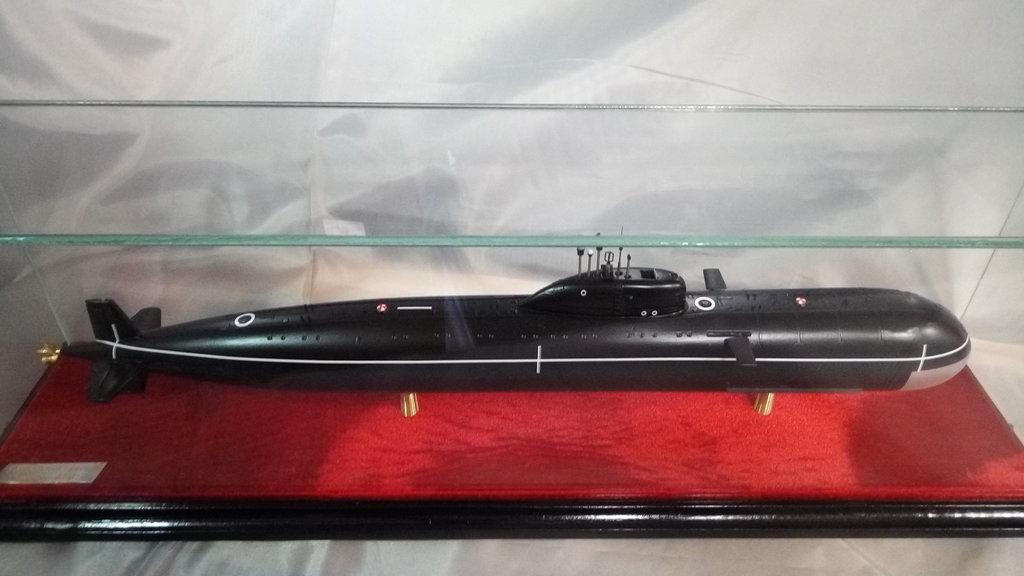 """Модели подводных лодок: Модель подводной лодки проекта 885 """"Ясень"""" в Модели кораблей"""